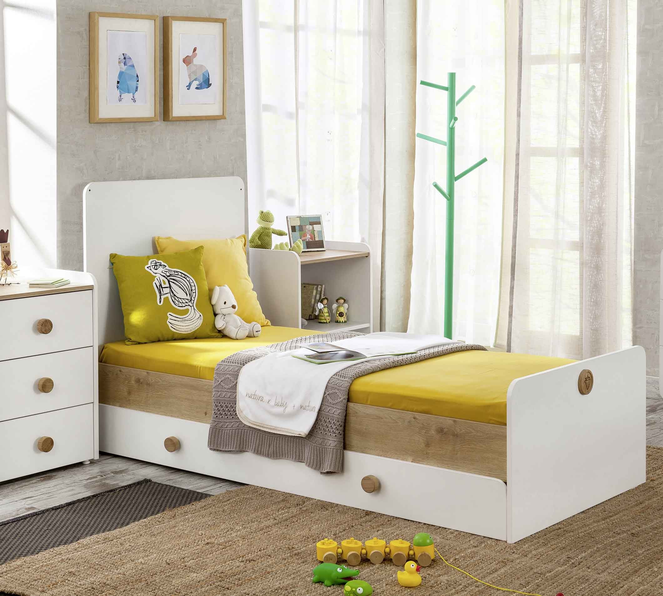 Natura Baby Sl Convertible Baby Bed With Parent Bed 80x180 Cm