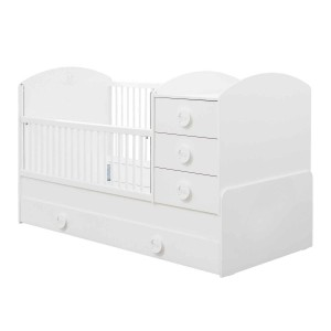 Baby Cotton Sl Convertible Baby Bed (With Parent Bed) (80x180 Cm)