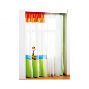 Baby Safari Curtain (140x260 Cm)