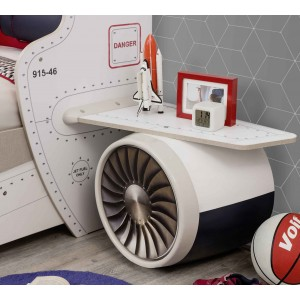 First Class Wings Nightstand