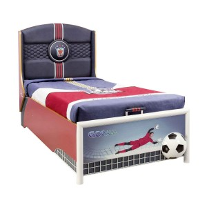Football Bed With Base (90x190 Cm)