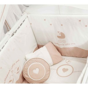 Romantic Baby Bedding Set (80x130 Cm)