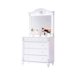 Romantic Dresser & Mirror