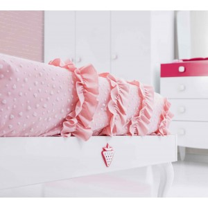 Rosa Bed Cover (90-100 Cm)