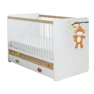 Safari Natura Baby Bed (70x130 Cm)