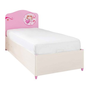 Sl Princess Bed With Base (90x190 Cm)