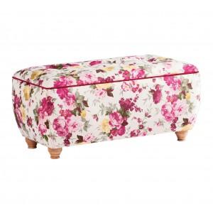 Summer Storage Ottoman (Pink)